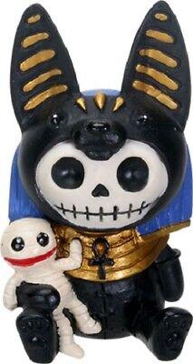 NEW Furrybones Furry Bones Anubis Egyptian Dog Skull Skeleton Figurine Gift 9210