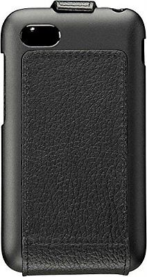NIB OEM BlackBerry Q5 Hand-Crafted Leather Flip Shell Case Cover ACC-54689-101 5 Blackberry Case