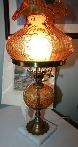 Fenton Lamp Base Ebay