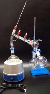 500 Ml Short Path Distillation Kit Laboratory Lab Glassware Extraction
