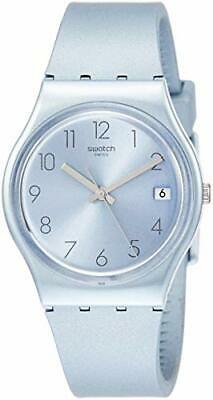 Swatch Azulbaya Quartz Movement Blue Dial Men's Watch GL401**Open Box**