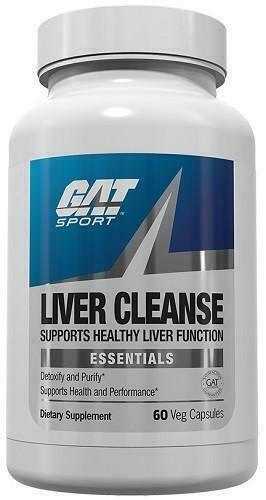 GAT Liver Cleanse - 60 Vegetable Capsules