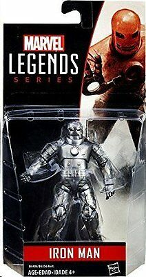 "IRON MAN ( 4"" ) HARD TO FIND ( 2015 ) MARVEL LEGENDS SERIES ACTION FIGURE HASBRO"