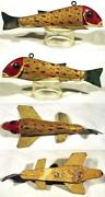 Antique Wooden Fishing Lures