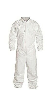 Alphaprotech Dupont Tyvek Medium Disposable Protective Suit With Elastic Cuffs