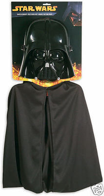 Halloween Star Wars Darth Vader Sith Lord Dress Up Child Costume Mask SET](Sith Lord Halloween Costume)