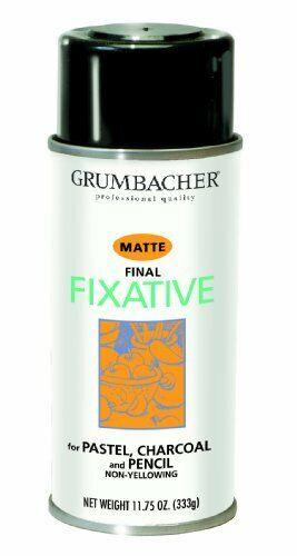 Grumbacher 549 11-3/4-Ounce Final Fixative Matte Spray Can