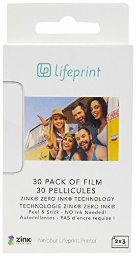 Lifeprint 30 pack of film for Lifeprint Augmented Reality Photo AND Video Printe