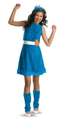 GIrls Cookie Monster Sesame Street Halloween - Sesame Street Girl Halloween Costumes