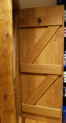 Solid Oak Ledged Door Ebay
