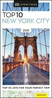 DK Eyewitness Top 10 New York City 2020 (Travel Guide) 9780241367766 | Brand New