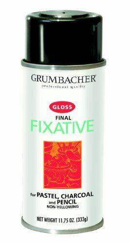 Grumbacher Final Fixative Gloss Spray, 11-3/4-Ounce Can, #543
