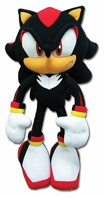 Brand New Ge 8967 12  Shadow The Hedgehog Sonic Plush Doll Great Eastern
