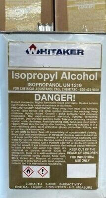 Isopropyl Alcohol 99 1 Gallon 128oz Fast Shipping Made In U.s.a Ipa