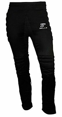 Sells Excel Goalkeeper GK Black Padded Pants Mens Large NWT New -