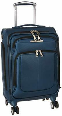 Samsonite SoLyte DLX Softside Luggage, Mediterranean Blue, Carry-On - $111.31