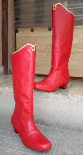 Ladies Red Dance Shoes Ebay