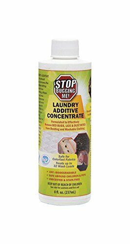 Stop Bugging Me 7687734 8 oz Laundry Additive System44; Assorted