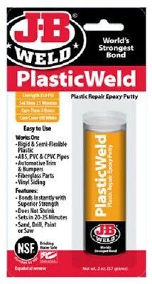 J-b Weld 2 Pack J-b Kwik Plastik 2 Oz Plastic Repair Epoxy Putty Stick