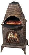 EXLARGE Mexican Style Cast Iron Outdoor Pizza Oven BBQ/Chimeneas Dandenong South Greater Dandenong Preview
