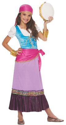 Gypsy Halloween Costume Child (Girls Gypsy Fortune Teller Child Halloween)