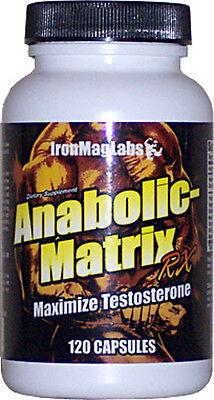 Anabolic-matrice Rx * IronMagLabs (FORCE * STAMINA * testostérone naturelle)
