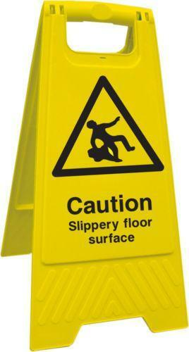 Slippery Sign Ebay