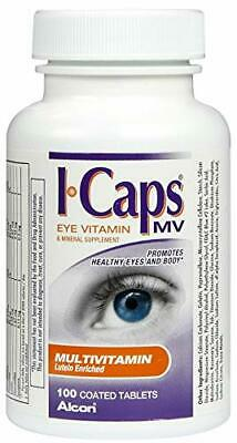 ICAPS MV Eye Vitamin & Mineral Supplement Tablets for Better Eyesight (Best Supplements For Eye Health)