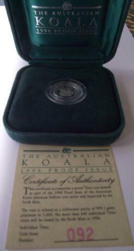 Platinum Koala Coin Ebay
