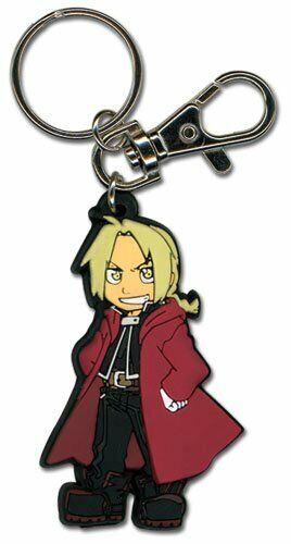 *NEW* Fullmetal Alchemist Brotherhood: Chibi Ed PVC Key Chain