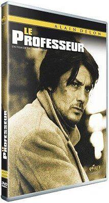 "ALAIN DELON  "" LE PROFESSEUR  "" RARE DVD NEUF"