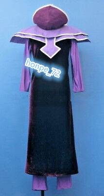 YuGiOh Dark Magician Cosplay Costume Size M Human-Cos/Free shipping