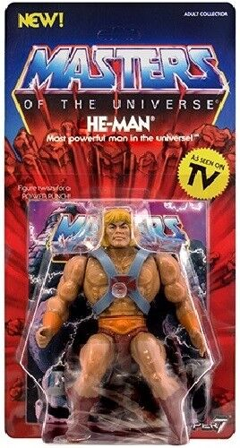 HE MAN Neo Vintage Collection SUPER 7 NEW WAVE MOTU CLASSICS Masters Universe