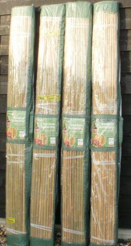 Split Bamboo Screening Fence Panels Ebay