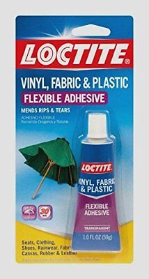 Loctite Vinyl Fabric Plastic Flexible Clear Adhesive Leather Canvas Glue