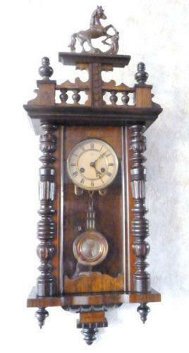 Antique Vienna Wall Clock Ebay