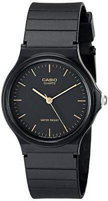 Casio Classic Men's Black Resin Strap 35mm Watch MQ24-1E