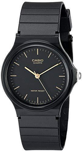 Casio Classic Mens Black Resin Strap 35mm Watch MQ241E
