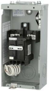 Breaker Spa Tub Panel 50 Amp 2-Circuit Spa Panel Self Test GFCI Electrical Box