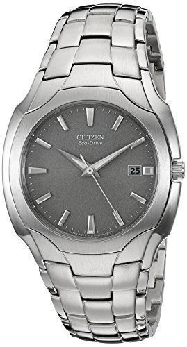 Citizen Eco-Drive Men's BM6010-55A Dress 180PR Stainless