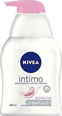 Nivea INTIMO Wasch-Lotion SENSITIVE Seifenfrei 250ml Intimpflege Seife Bad