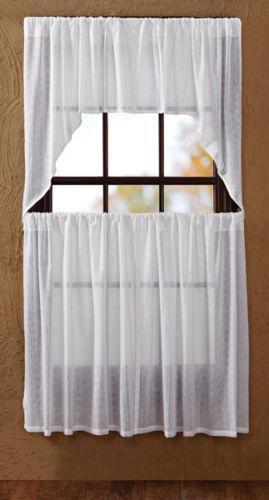 Sheer Tier Curtains Ebay