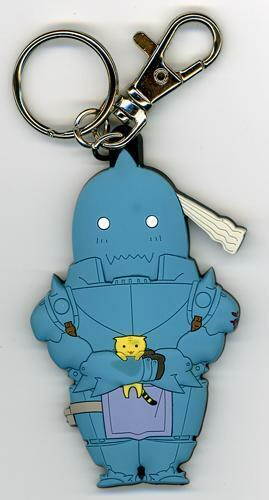 FullMetal Alchemist Al with Cat Keychain