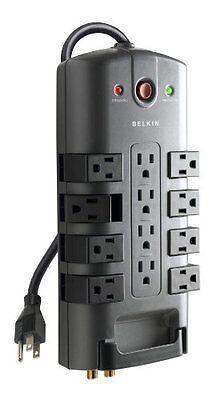 Belkin Pivot-Plug Surge Protectors 12 Outlets 8ft Cord  (12 Outlet Pivot Plug)