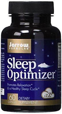 Jarrow Formulas Sleep Optimizer Promotes Relaxation 60 Capsules New   Sealed