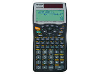 Sharp EL-W506 Scientific Calculator, WriteView, SEK II, Twin-Power