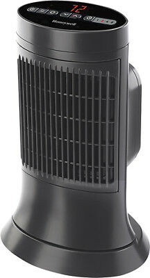 Honeywell - Ceramic Compact Tower Heater - Slate Gray