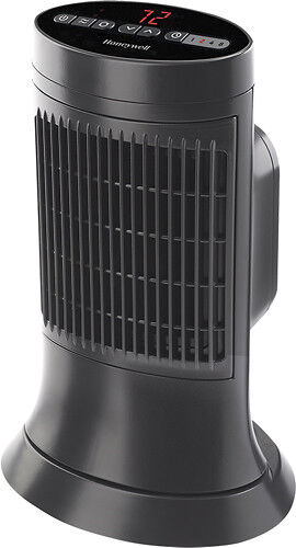 Honeywell Ceramic Compact Tower Heater Slate Gray HCE311V