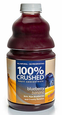 Dr. Smoothie 100% Crushed Blueberry Banana Smoothie Concentrate (46oz - Dr Smoothie Blueberry Banana