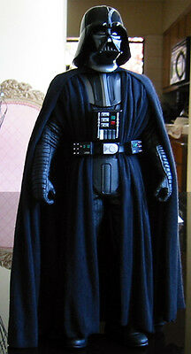 SALE CUSTOM 1/6 scale Darth Vader Cape Tunic Set Star Wars Sideshow Hot Toys